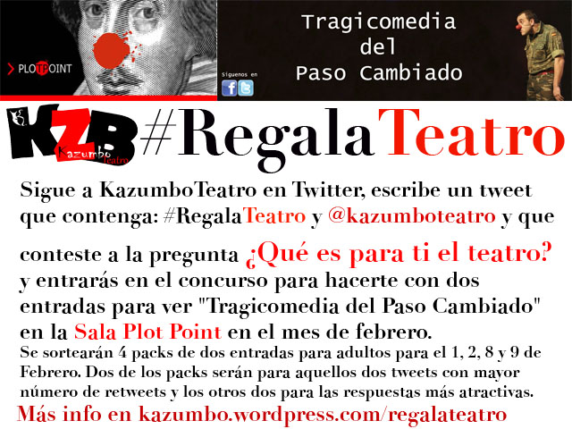 #RegalaTeatropp